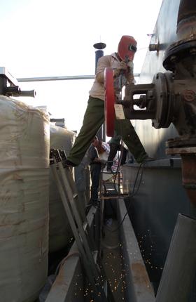 鸡泽奥宇纺织软化水设备安装案例_石家庄软化水设备厂家_春之原水处理设备公司