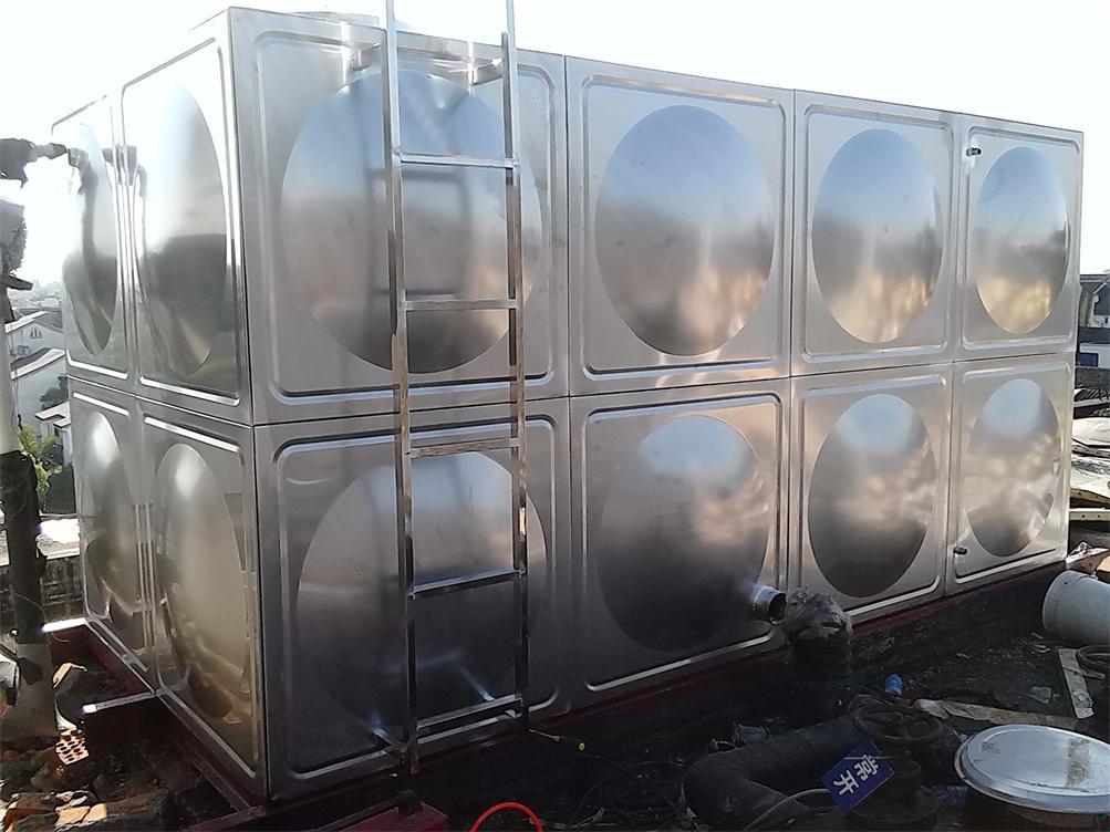 玻璃钢水箱在二次供水系统中能起到什么作用?